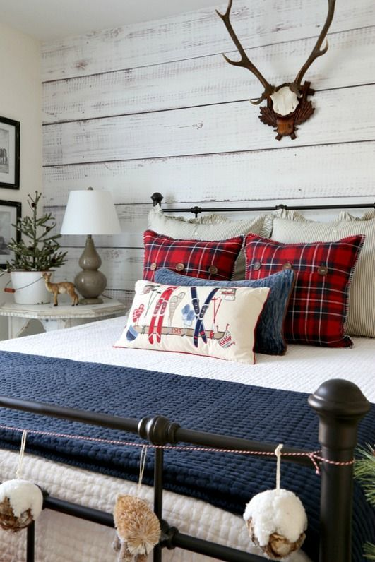 FARMHOUSE BEDROOM CHRISTMAS pillows
