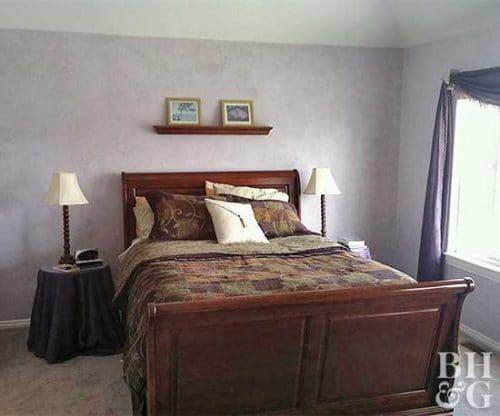 old bedroom makeover