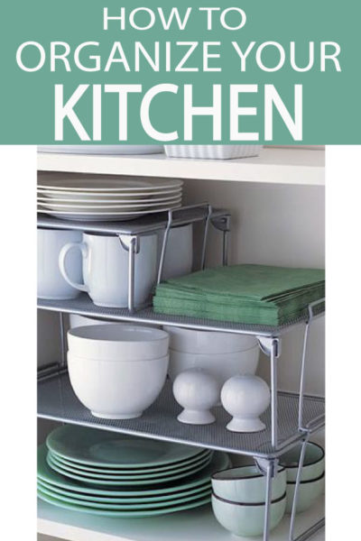 An organized kitchen creates a well-oiled machine in the heart of your home. Check out 5 Steps to an organized kitchen!