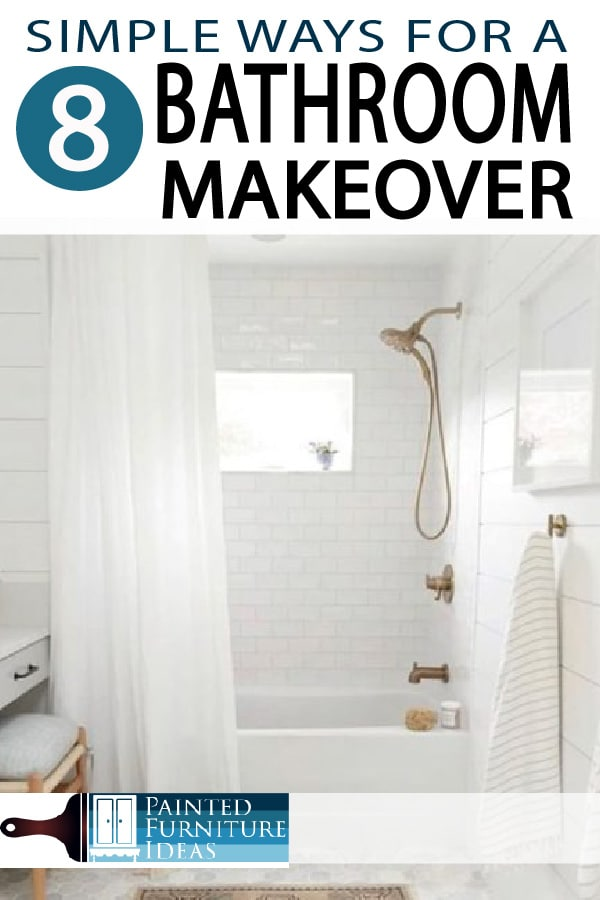 Painted Furniture Ideas 8 Ways For Bathroom Makeovers