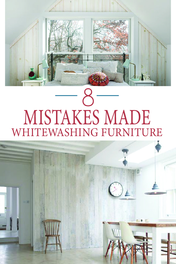 Painted Furniture Ideas 8 Mistakes Made While Whitewashing Furniture Painted Furniture Ideas