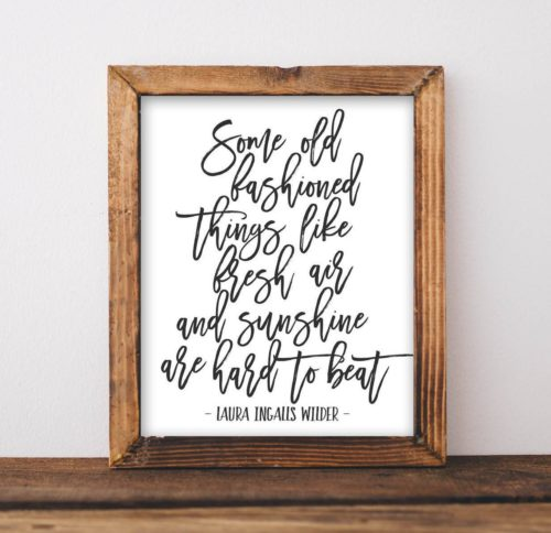 wall quote art