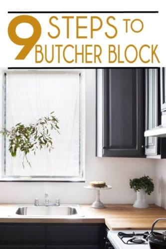 DIY butcher block countertops are a classic kitchen element that brings warmth and beauty to any kitchen. Learn how to do it yourself here!