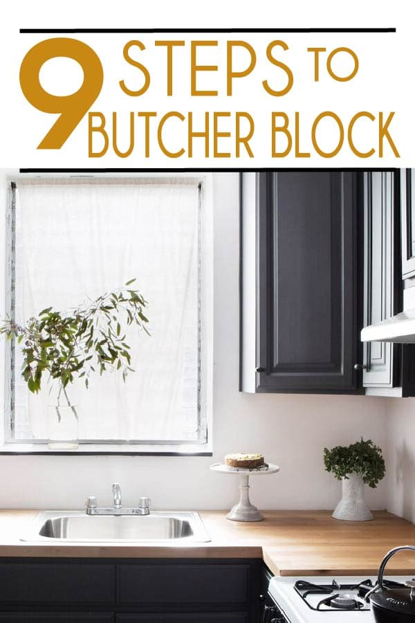 Painted Furniture Ideas 9 Steps To Diy Butcher Block