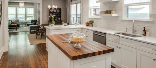 kitchen countertop wood