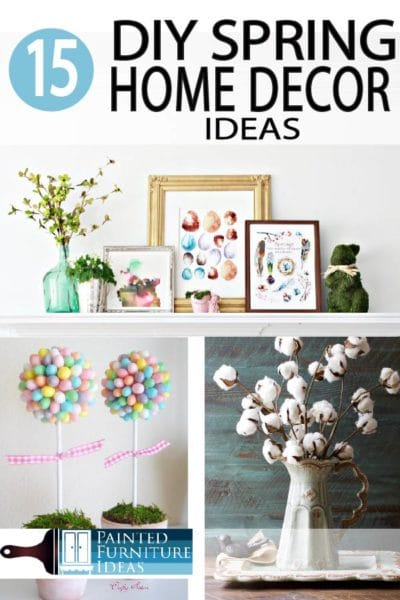 Spring is bright, it's colorful, and it's a breath of fresh air after winter has melted away. Check out these spring home decor ideas for the season!