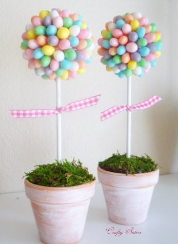 egg topiary craft