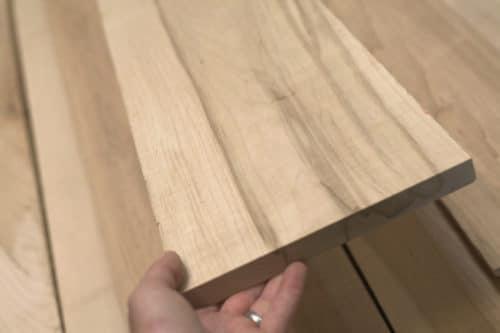 maple wood panels