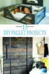 13 Pallet ideas for your next DIY home decor project!