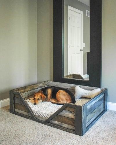 dog bed pallets