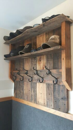 pallet mudroom lockers