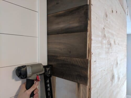 brad nailer used to install