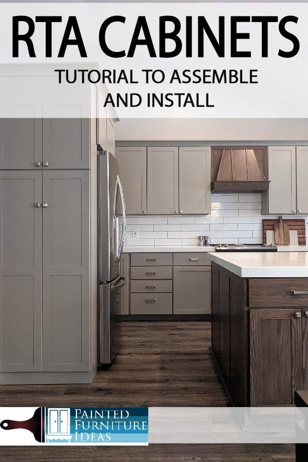 Painted Furniture Ideas | RTA Cabinet Assembly Tutorial   Painted Furniture  Ideas