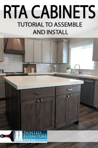 RTA cabinets save money on your makeover or remodel.  Learn how to assemble them correctly and install.
