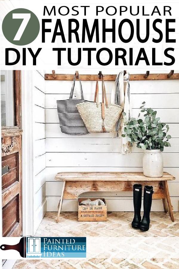 Painted Furniture Ideas Top 7 Diy Farmhouse Articles