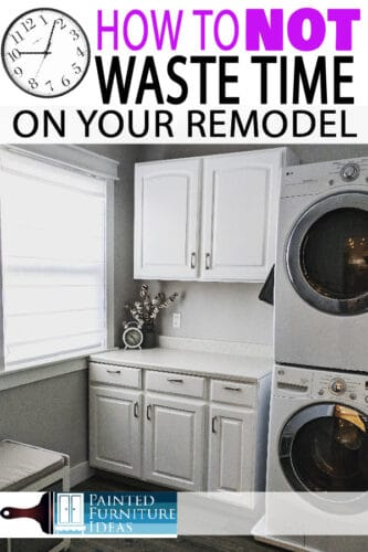 Save time on your home remodel with these great tips and tricks! Lets start that makeover!