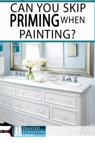 dO YOU REALLY NEED TO PRIME BEFORE YOU PAINT? Learn how to paint your DIY project correctly!