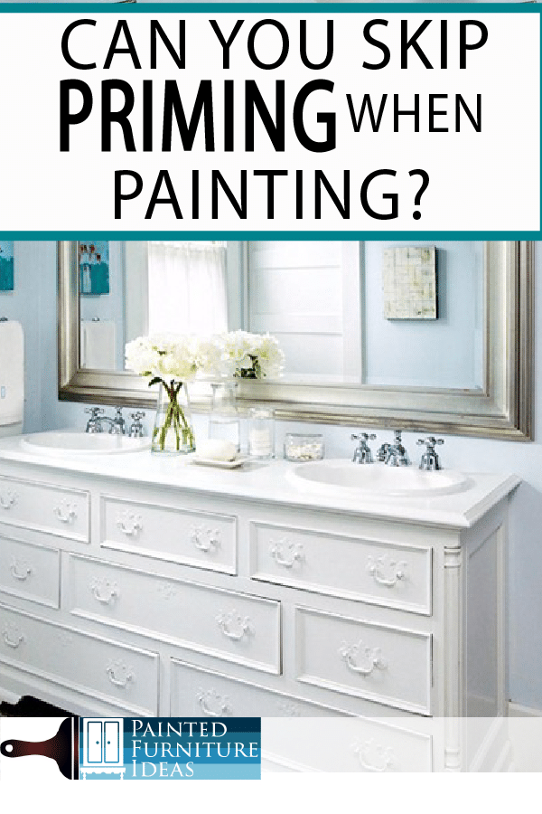 Painted Furniture Ideas Do You Really Need To Prime Before Paint