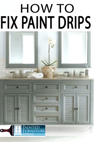 DIY Project? Learn how to avoid and fix paint drips for your home projects!