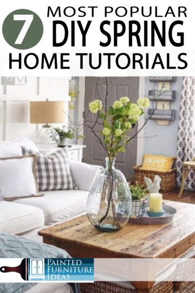 Spring Home decor ideas for DIY projects!