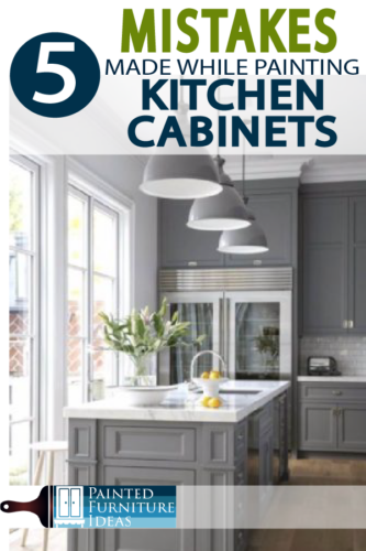 Avoid DIY mistakes while painting kitchen cabinets, with these great tricks and tips!
