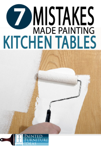 Check out DIY painting table tips, learn how to avoid mistakes and get a professional finish