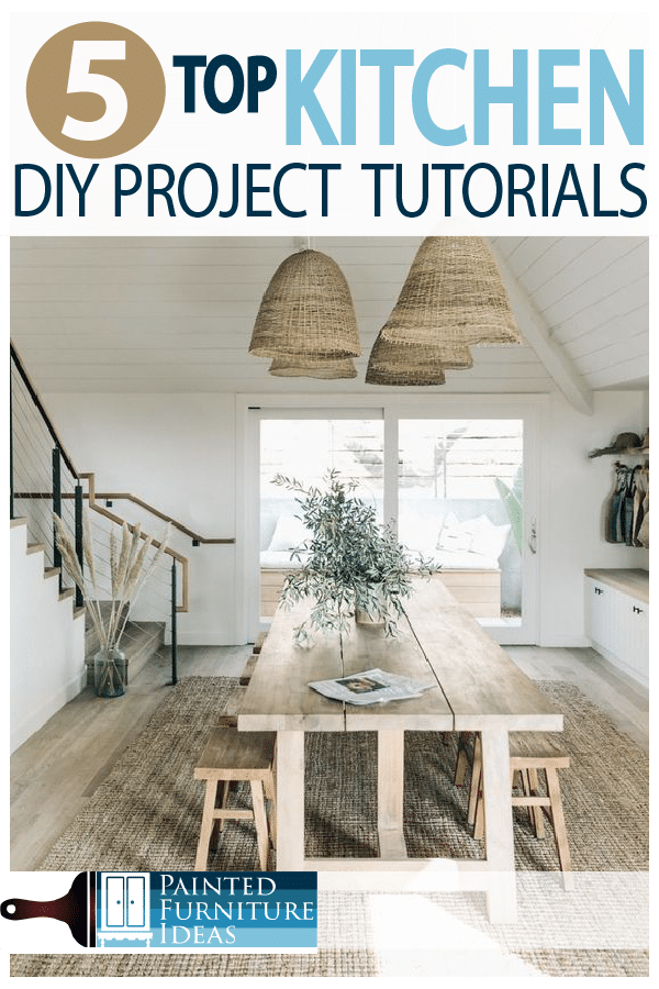Top 5 Diy Kitchen Projects Painted Furniture Ideas