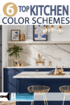 A new year brings new kitchen paint colors, check out these paint color schemes for your next DIY kitchen project!