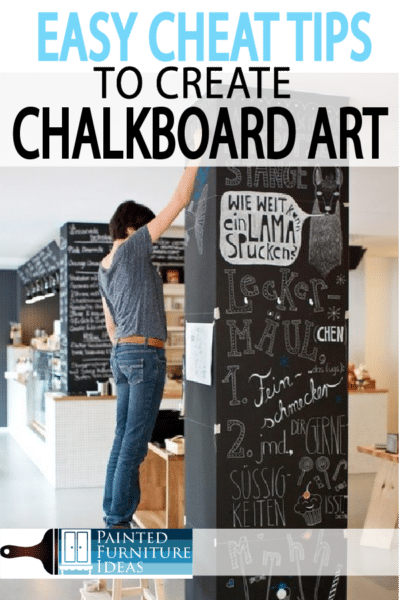 Want chalkboard art? There are so many beautiful chalkboard home decor ideas. Learn how to create professional look!