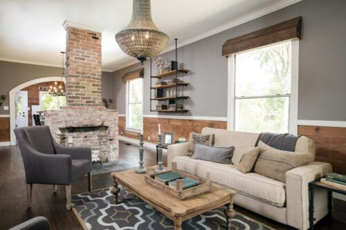 farmhouse home decor idea