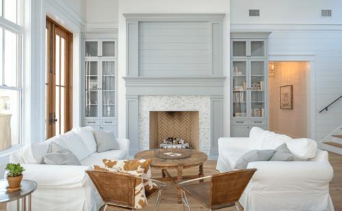 soft blue farmhouse room decor