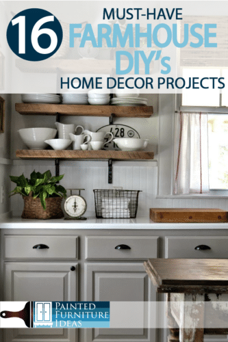 Farmhouse homes have become the most popular home style for years now, and the style is here to stay Check out farmhouse home decor projects DIY style!