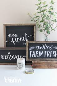 home decor chalkboard signs