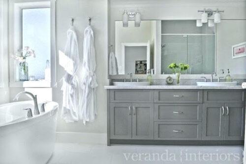 bathroom gray