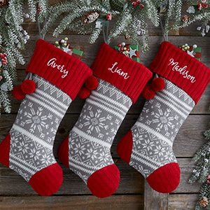 Christmas Farmhouse stockings