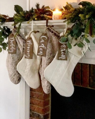 Christmas Farmhouse stocking