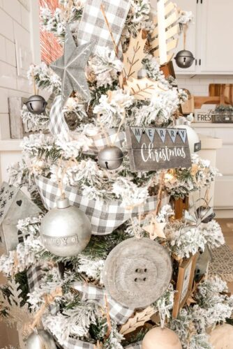 Christmas Farmhouse tree