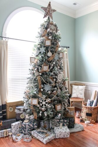 Christmas Farmhouse tree decors