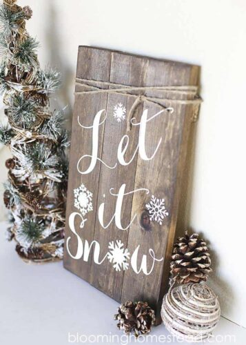 FARMHOUSE sign for christmas