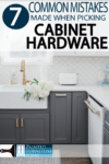 Choosing new cabinet hardware can be overwhelming, I'm here to help.