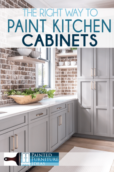 The kitchen is the center of any home. Updating your kitchen breathes new life throughout your entire home. Kitchen cabinets are a major player in your kitchen, and so painting them and changing them a little bit, can make a big change in your home decor.