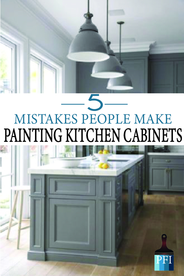 Painted Furniture Ideas 5 Mistakes People Make When Painting Kitchen Cabinets