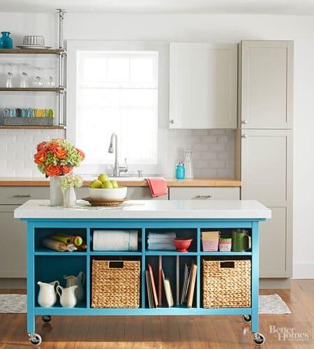 kitchen DIY island