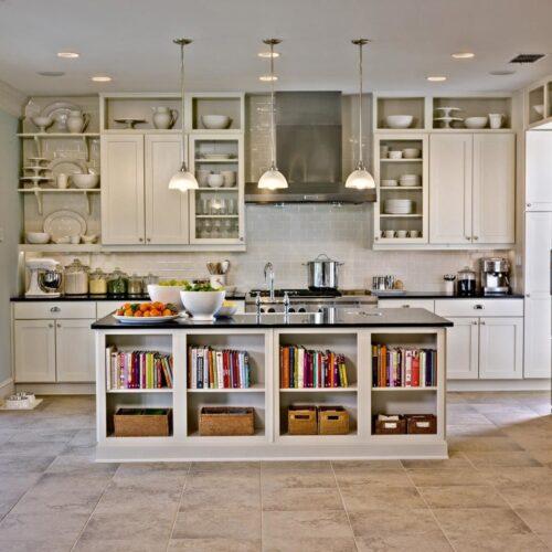 DIY kitchen island project