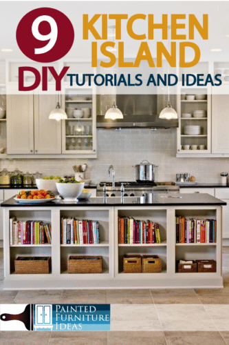 Everyone loves a kitchen Island! here are 9 DIY Kitchen Island Tutorials and Ideas!!