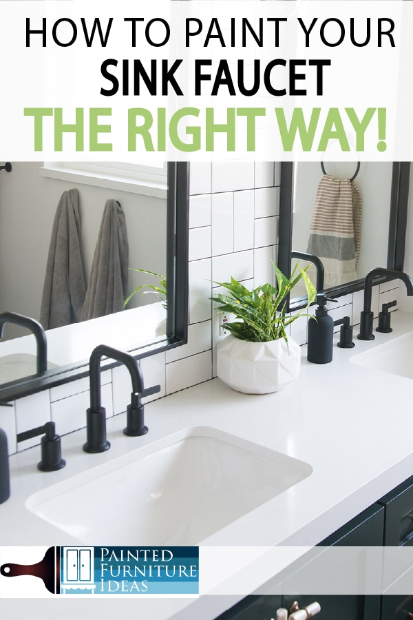To Spray Paint Your Faucet, How To Paint Bathroom Fixtures