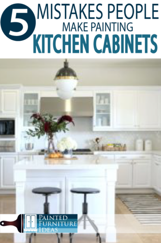 DIY Painting kitchen cabinet tips and tricks!