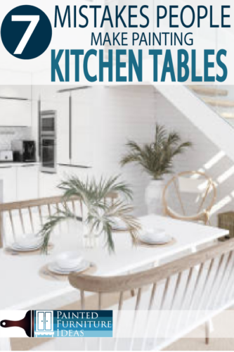 Painting kitchen tables can be tricky, learn from others before you begin and create a professional DIY project!