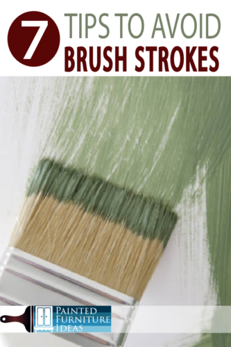 Avoid brush strokes with these tips for your next DIY project