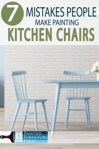 Painting Kitchen Chairs are a great DIY repainting project, just do it right!  Learn from others, how to get a professional look!